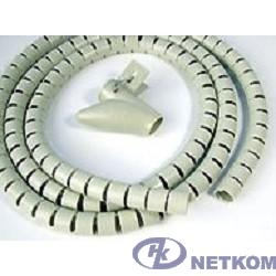 Hyperline SHW-25 Пластиковый спиральный рукав для кабеля д.25 мм (2 м) и инструмент ST-25