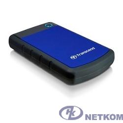 "Transcend Portable HDD 1Tb StoreJet TS1TSJ25H3B {USB 3.0, 2.5"", blue}"