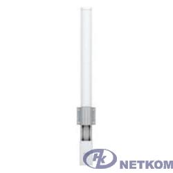 UBIQUITI AMO-2G10 внешняя всенаправленная MIMO 2x2, 10 дБ, 2,35-2,55 ГГц, 360°x12°, 2* RP-SMA (волны вертикальные/горизонтальные)
