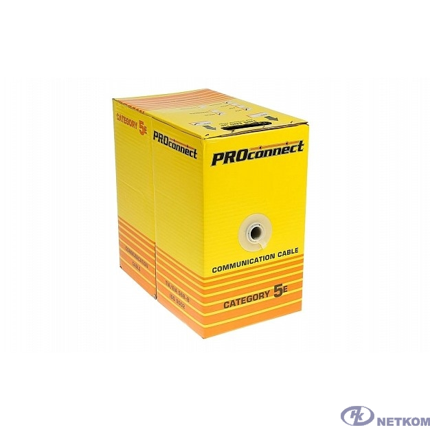 Proconnect (01-0043-2) Кабель UTP CAT5e  4 пары (305м) 0.51 мм CCA Light