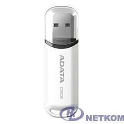 A-DATA Flash Drive 16Gb С906 AC906-16G-RWH {USB2.0, Белый}
