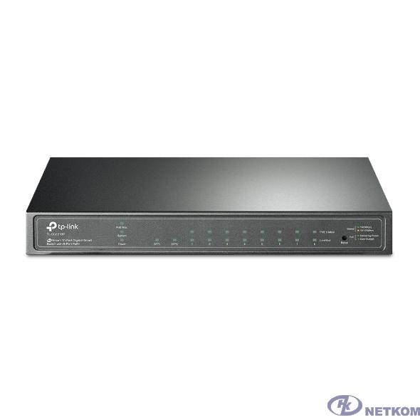 TP-Link TL-SG2210P JetStream гигабитный 8-портовый Smart коммутатор PoE с 2 SFP-слотами