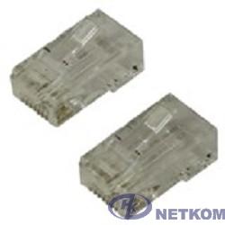 5bites US100A/US010A Коннектор  RJ-45 8p8c 6кат., зол.напыление (1шт)