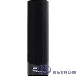 "WD Portable HDD 4Tb Elements Desktop WDBWLG0040HBK-EESN {USB3.0, 3.5"", black}"