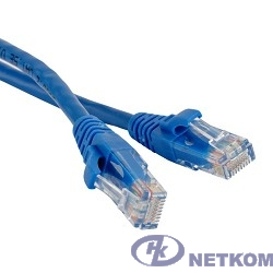 Hyperline PC-LPM-UTP-RJ45-RJ45-C5e-1M-LSZH-BL Патч-корд U/UTP, Cat.5е, LSZH, 1 м, синий