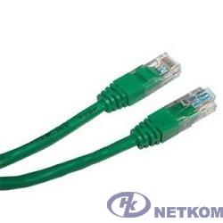 NEOMAX (NM13001-005G) Шнур коммут. UTP 0.5м, cat.5е - зеленый,  многожильный