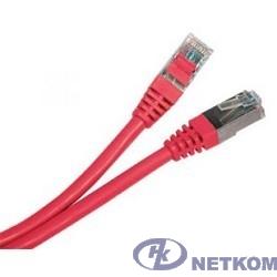 NEOMAX (NM13001-005R) Шнур коммут. UTP 0.5м, cat.5е - красный,  многожильный