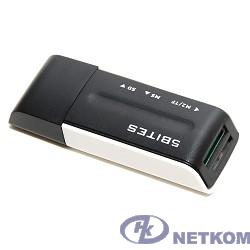 5bites RE2-102BK (RE-102BK) Устройство ч/з карт памяти  USB2.0 / ALL-IN-ONE / USB PLUG / BLACK