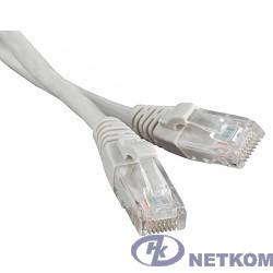 Hyperline PC-LPM-UTP-RJ45-RJ45-C6-5M-LSZH-GY Патч-корд U/UTP, Cat.6, LSZH, 5 м, серый