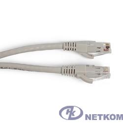 Hyperline PC-LPM-UTP-RJ45-RJ45-C6a-3M-LSZH-GY Патч-корд U/UTP, Cat.6a, 10G, LSZH, 3 м, серый