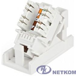 Hyperline SIP2K-C5E-M45-22.5 Розетка (вставка) 45x22,5 (аналог Mosaic) с наклонным модулем RJ-45 категории 5е