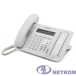 Panasonic KX-DT543RU Цифр.тел.с диспл. 3 строки, 24 клавиши, порт XDP для KX-TDA/TDE/NCP/NS (белый)