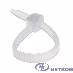 REXANT (07-0250) Хомут nylon 4.0 х 250 мм 100 шт белый