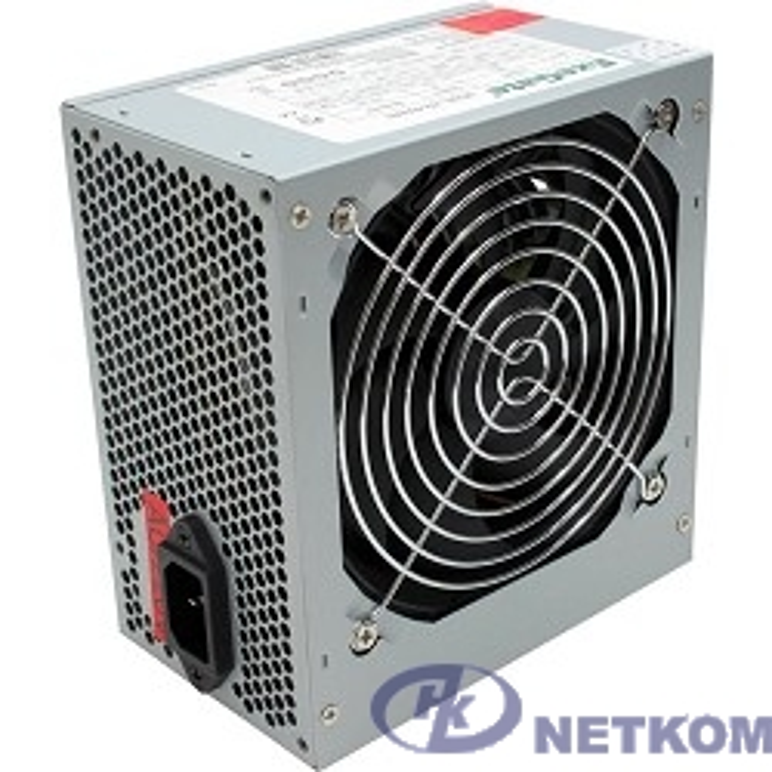 Exegate EX224732RUS / 251759 /278131  Блок питания 400W ATX-400NPX OEM, black, 12cm fan, 24+4pin, 6pin PCI-E, 3*SATA