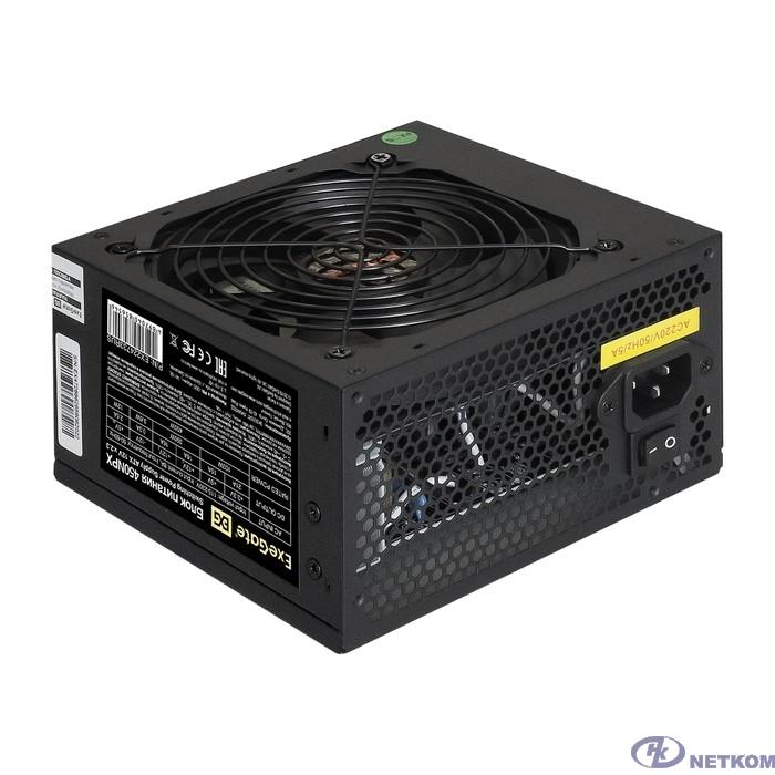 Exegate EX224733RUS Блок питания 450W ATX-450NPX OEM, black, 12cm fan, 24+4pin, 6pin PCI-E, 3*SATA
