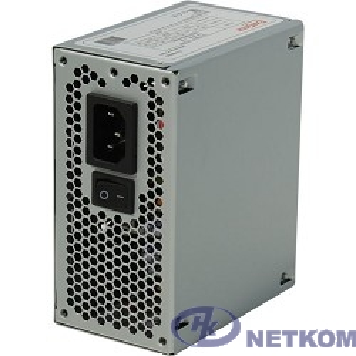 Exegate EX234946/251768 RUS Блок питания 450W ITX-M450, SFX, 8cm fan, 24+4pin, 2*SATA, 1*FDD, 1*IDE