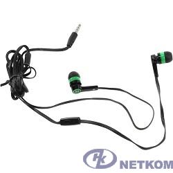 Defender Pulse 420 черный + зеленый, вставки [63422]