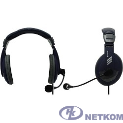 Defender Gryphon HN-750 синий, кабель 2 м [63748]