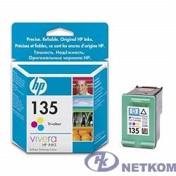 HP C8766HE Картридж №135, Color {DJ 6543/5743/5740/6843, PS 325/375/8153/8453, Color (7ml)}