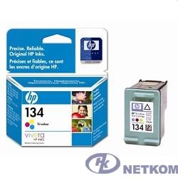 HP C9363HE Картридж №134, Color {DJ 6543/5743/5740/6843, PS 325/375/8153/8453, Color (14ml)}