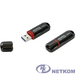 A-DATA Flash Drive 64GB UV150 AUV150-64G-RBK {USB3.0, Black}