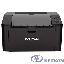 Pantum P2207 Принтер лазерный, монохромный, А4, 20 стр/мин, 1200 X 1200 dpi, 128Мб RAM, лоток 150 листов, USB, черный корпус