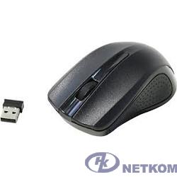 Oklick 485MW Black Мышь оптическая (1200dpi) беспроводная USB (3but) [997819]