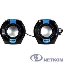 SVEN 150, чёрный-синий (5 Вт, питание USB)