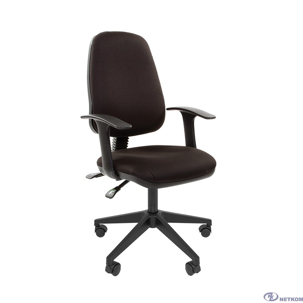 Офисное кресло Chairman  661 15-21 черный  sl ,  (7022357)