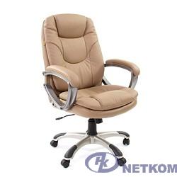 Офисное кресло Chairman  668  (экопремиум 0009) pu бежевый  , [7007677]