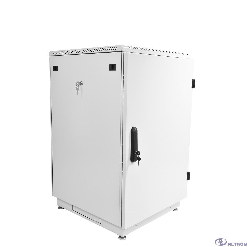 ЦМО Шкаф телекоммуникационный напольный 18U (600x800) дверь металл (ШТК-М-18.6.8-3AAA) (2 коробки)