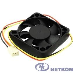 5bites F5010S-3 Вентилятор 50 x 50 x 10мм, подшипник скольжения, 4500RPM, 24dBa, 3 pin