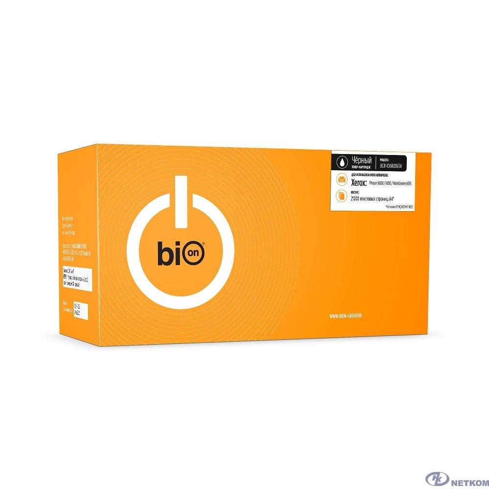 Bion 106R01634 Картридж для Xerox Phaser 6000/6010 WorkCentre 6015 (2 000 стр.) Черный