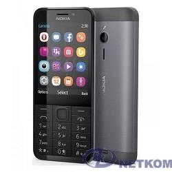 Nokia 230 DS  DARK-SILVER/BLACK  [A00026971]