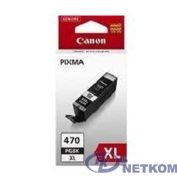Canon PGI-470XLPGBK 0321C001 Картридж для Pixma iP7240/MG6340/MG5440, черный