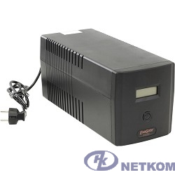 Exegate EP212519RUS ИБП Exegate Power Smart ULB-1000 LCD <1000VA, Black, 2 евророзетки+2 розетки IEC320, USB>