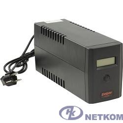 Exegate EP212517RUS ИБП Exegate Power Smart ULB-800 LCD <800VA, Black, 2 евророзетки, USB>