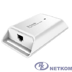 D-Link DPE-301GS/A1A Гигабитный PoE-адаптер (выходное напряжение 5/9/12В DC)