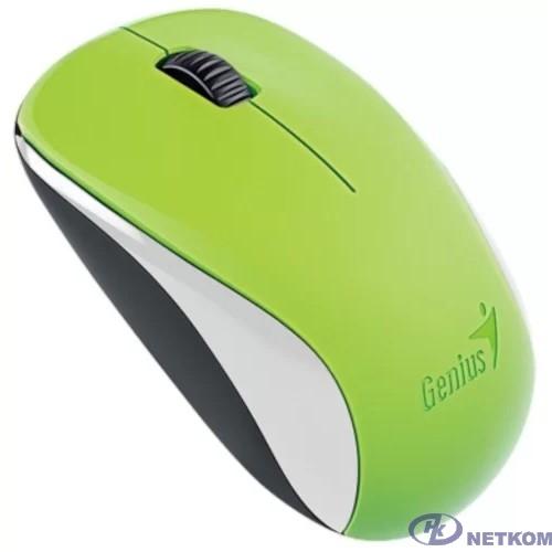 Genius Мышь NX-7000 Green { оптическая, 1200 dpi, радио 2,4 Ггц, 1хАА, USB} [31030109111]