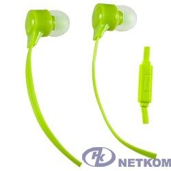 Perfeo наушники внутриканальные c микрофоном HANDY лайм PF-HND-LME