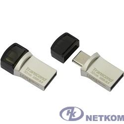 Transcend USB Drive 32Gb JetFlash 890 TS32GJF890S {USB 3.0/3.1 + Type-C}