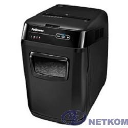 Fellowes Шредер AutoMax 200C FS-4653601/02 с автоподачей {DIN P-4,4х38мм.200лст.32лтр}