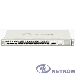 MikroTik CCR1036-12G-4S-EM Маршрутизатор Cloud Core Router (36-cores, 1.2Ghz per core), 8GB RAM, 4xSFP cage, 12xGbit LAN, RouterOS L6, 1U rackmount case, dualPSU, m.2 slot,(rev r2)