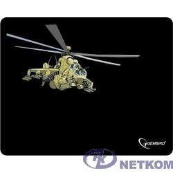 """Коврик для мыши Gembird MP-GAME9, рисунок- """"вертолет"""", размеры 250*200*3мм"""