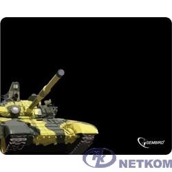 "Коврик для мыши Gembird MP-GAME10, рисунок- ""танк"", размеры 250*200*3мм"