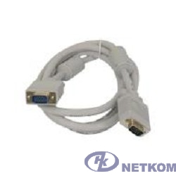 5bites APC-133-010 Кабель VGA сигнальный HD15M/HD15M, ферр.кольца, 1м.