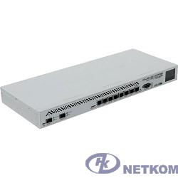 MikroTik CCR1036-8G-2S+ Маршрутизатор  (36-cores, 1.2Ghz per core), 4GB RAM, 2xSFP+ cage, 8xGbit LAN, RouterOS L6, 1U rackmount case, PSU, r2