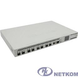 MikroTik CCR1072-1G-8S+ Маршрутизатор (72-cores, 1GHz per core), 16GB RAM, 8xSFP+ cage, 1xGbit LAN, RouterOS L6, 1U rackmount case, two redundant hot plug PSU