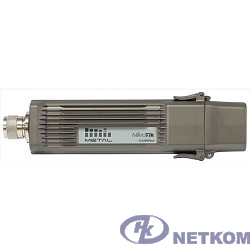 MikroTik RBMetalG-52SHPacn Беспроводная точка доступа Metal 52 ac 2.4/5GHz 802.11a/b/g/n/ac wireless, RouterOS L4, metal case, mounting loops, PoE, PSU, Omni antenna