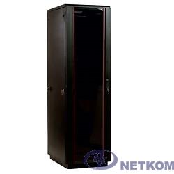 ЦМО Шкаф телекоммуникационный напольный 42U (600x600) дверь стекло, цвет чёрный (ШТК-М-42.6.6-1ААА-9005) (3 коробки)